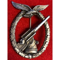 Luftwaffe Flak badge denazified