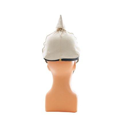 Pickelhaube - Prussian spikehelmet white cover