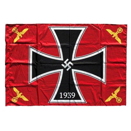 Ijzeren kruis vlag polyester
