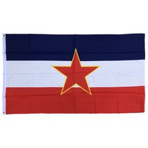 Communistisch Joegoslavië vlag