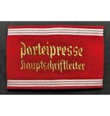 NSDAP Parteipresse hauptschriftleiter armband