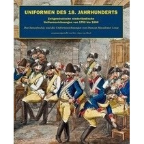 Military Uniforms in the netherlands 1752-1800 book