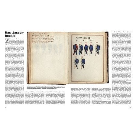 Nederlandse Militaire Uniformen 1752-1800 boek