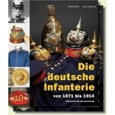 The German Infantry 1871-1914 book