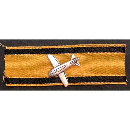 Aircraft destruction badge gold