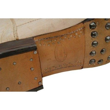 German leather M1866 jackboots