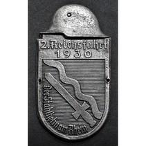 Car plaque ReichsFahrt 1930