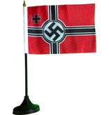 Table flags plastic base