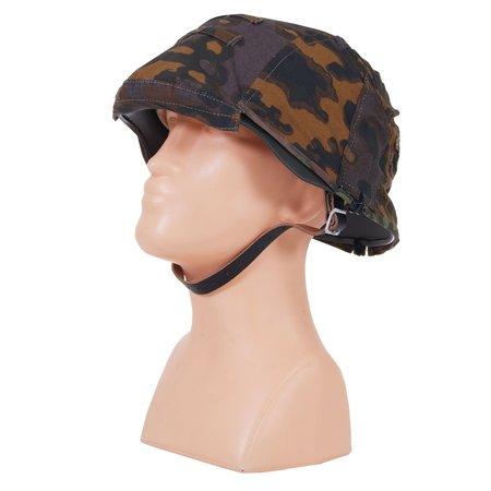 Stahlhelm 2 in 1 eichentarn camouflage
