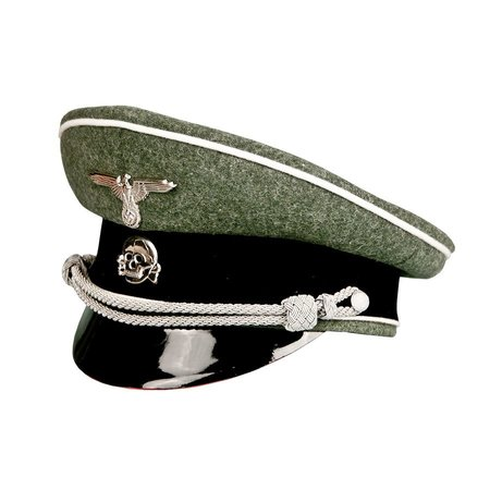 SS infantry officer wool cap
