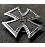 IJzeren kruis broche 1ᵉ Klasse schroef