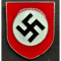 NSDAP metalen helm badge