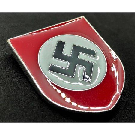 NSDAP metal helmet badge