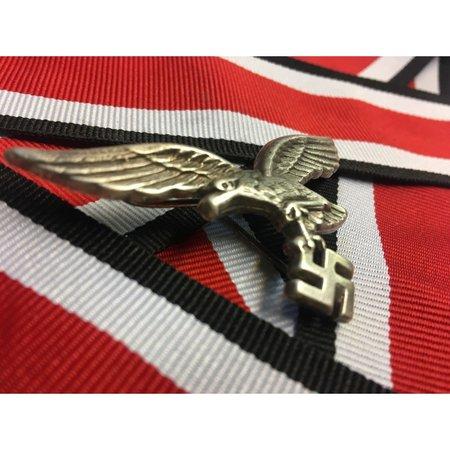 DAK metal helmet badge