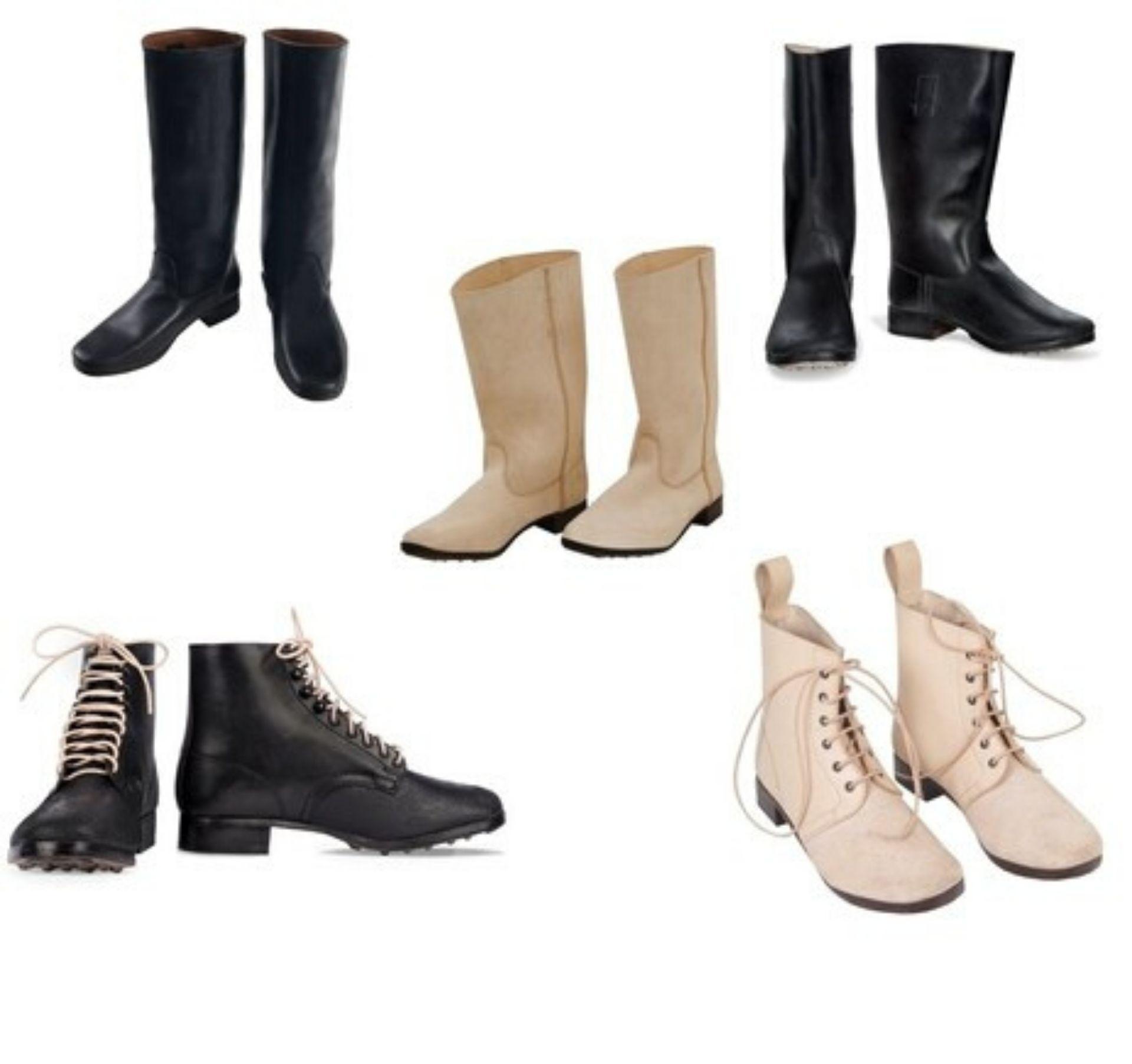Instructie voor juist onderhoud van leren laarzen en schoenen