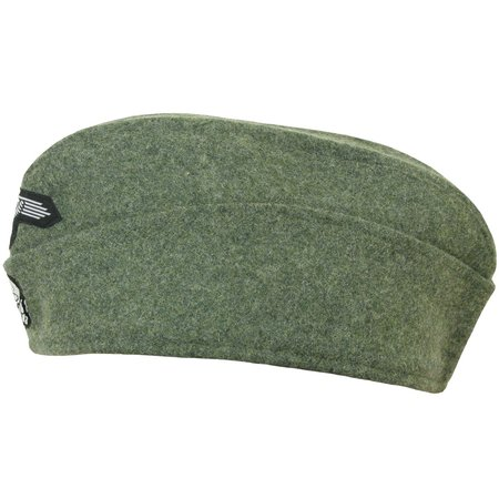 SS M40 side cap with insignia