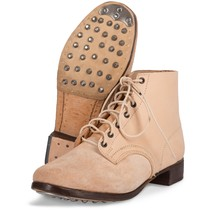 M43 Duitse leren leger schoenen ongeverfd