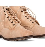 M43 German leather army ankle boots undyed