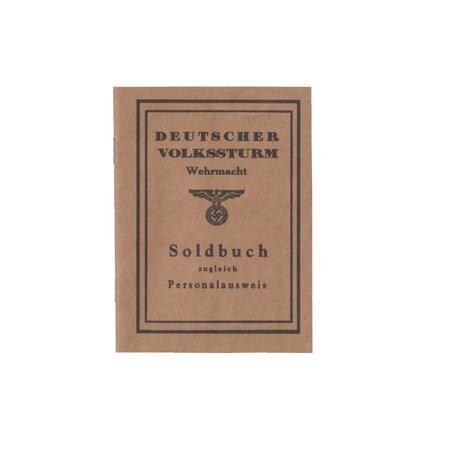 Volkssturm dienstboek - Copy
