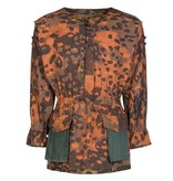 2 in 1 platanentarn camouflage smock