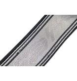 SS brocade belt with buckle