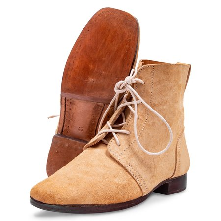 Russian imperial army ankle boots