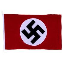 NSDAP Nazi party flag hand sewn type 2