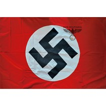 NSDAP Nazi party flag hand sewn