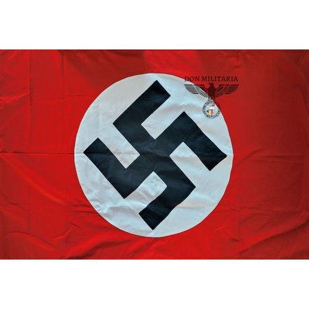 NSDAP Nazi partij vlag hand genaaid
