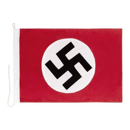 NSDAP Nazi partij vlag hand genaaid klein