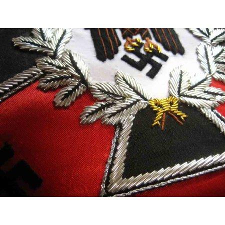 Wehrmacht zwaluwstaartvlaggen hand genaaid