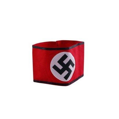 SS Nazi armband  katoen