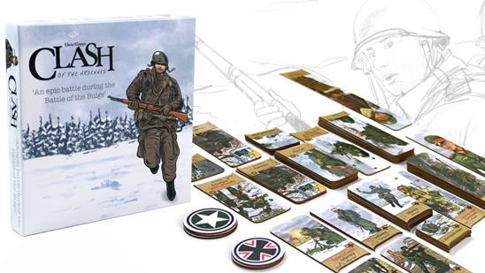 Clash of the Ardennes – Van idee tot Kickstarter