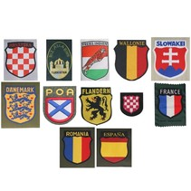 Choose foreign volunteer  insignia