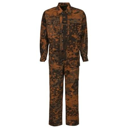 2 in 1 platanentarn camouflage overall
