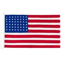 Amerikaanse WO1 en WO2 vlag katoen