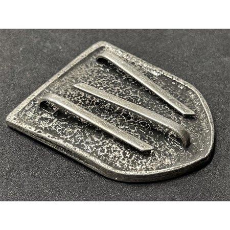 SS metalen helm badge