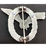 Luftwaffe piloot badge zonder swastika