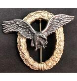 Luftwaffe piloot badge goud zonder swastika