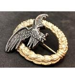 Luftwaffe observer badge gold without swastika