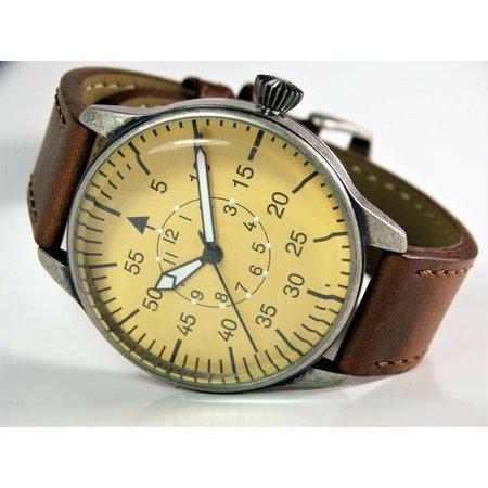 Luftwaffe piloot horloge bruine