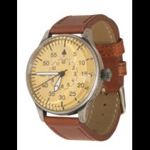 Luftwaffe piloot horloge bruin