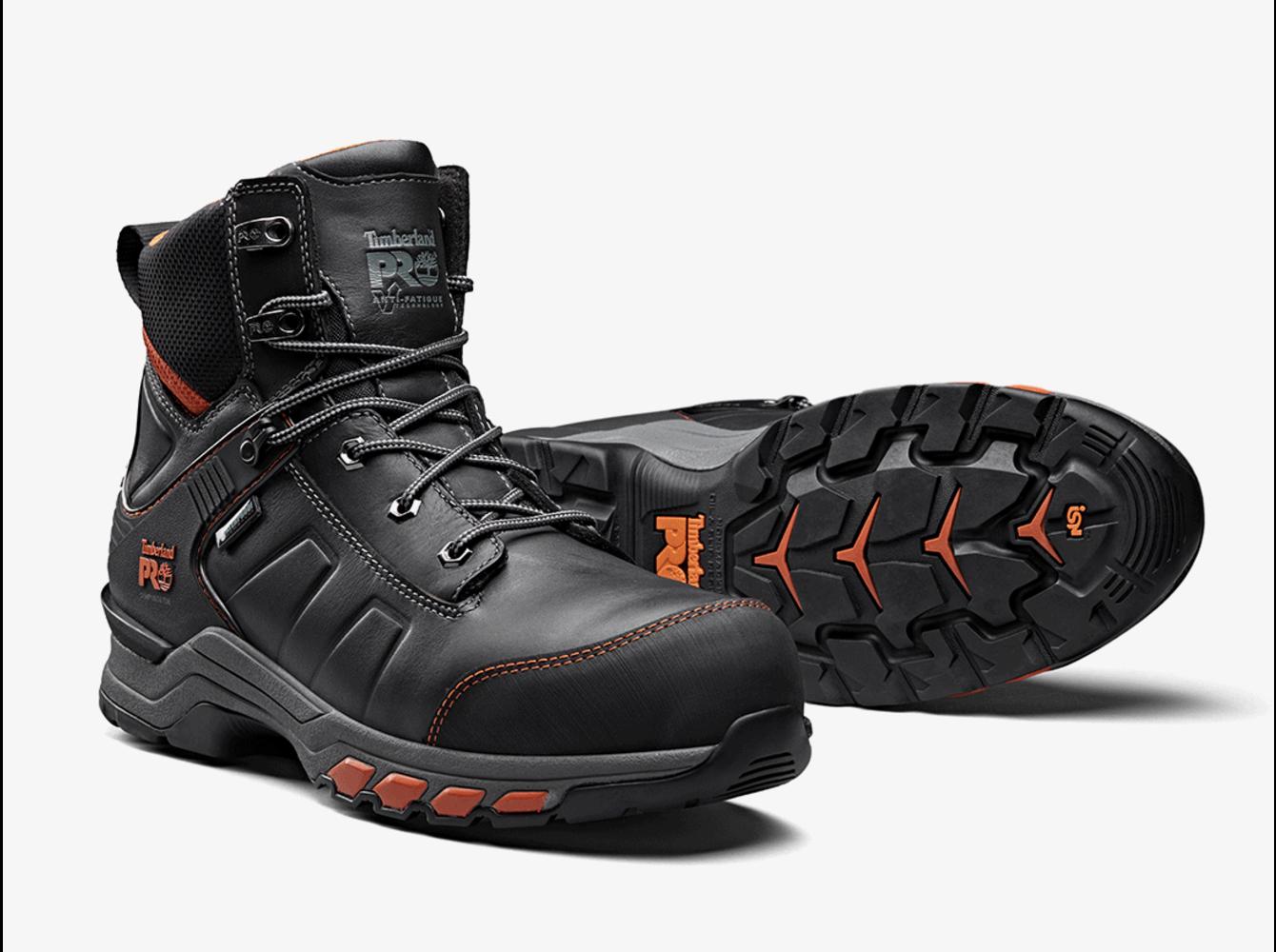 Timberland PRO® Hypercharge Black-Orange S3