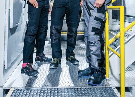 Werkschoenen fabriek