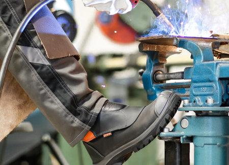 Werkschoenen metaal