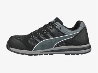 Puma 64.316.0 Elevate Knit Black Low S1P