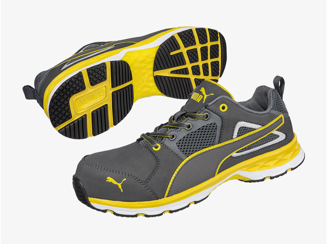Puma 64.380.0 Pace 2.0 Yellow Low S1P