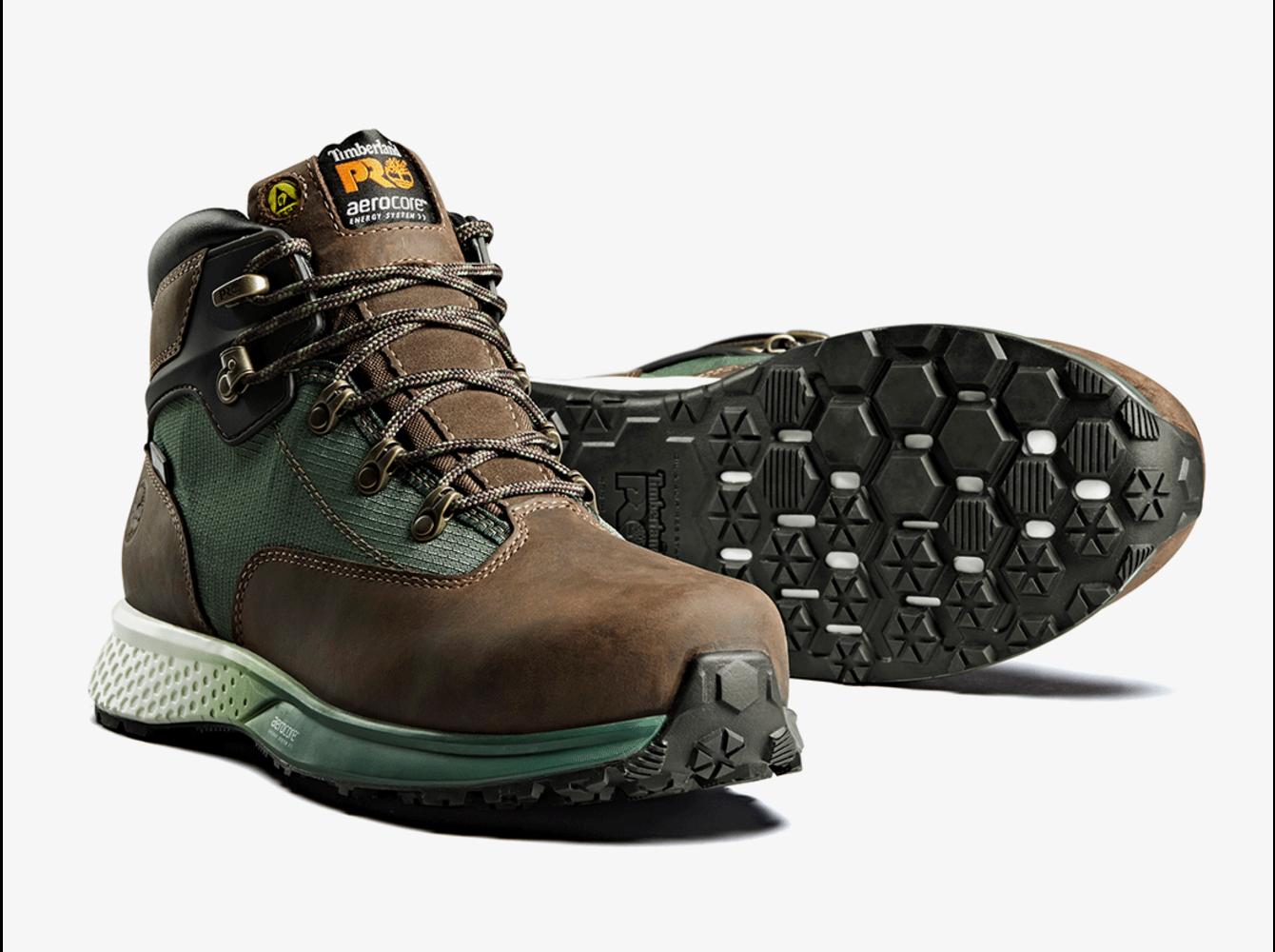 Timberland PRO® Euro Hiker Brown-Green S3