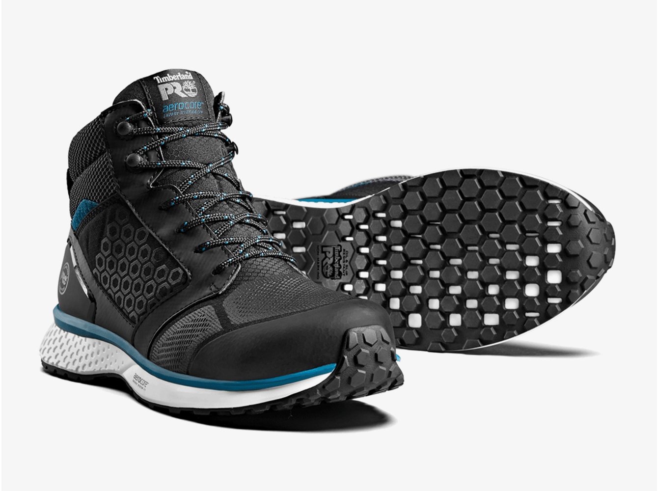 Timberland PRO® Reaxion Mid Black-Teal S3