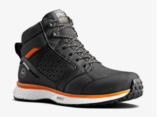Timberland PRO® Reaxion Mid Black-Orange S3